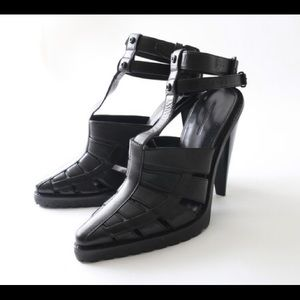 Alexander wang strappy chunky high heel sandals